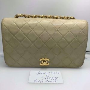 Vintage Chanel Single Flap Bag